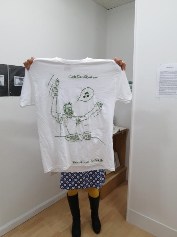 Cafe Dan Graham T shirt 2